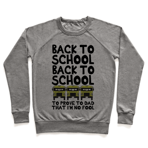 Back to School Pullover