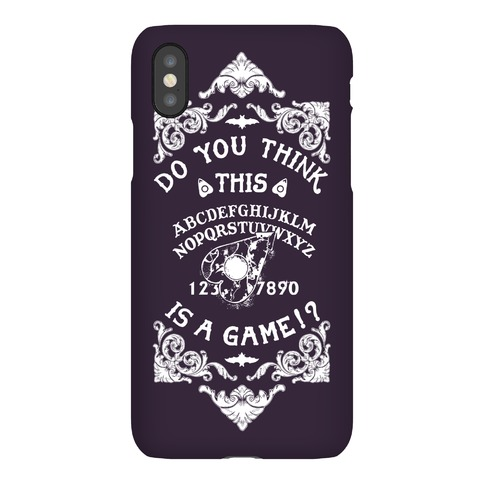 Do You Think This Is A Game!? Phone Case
