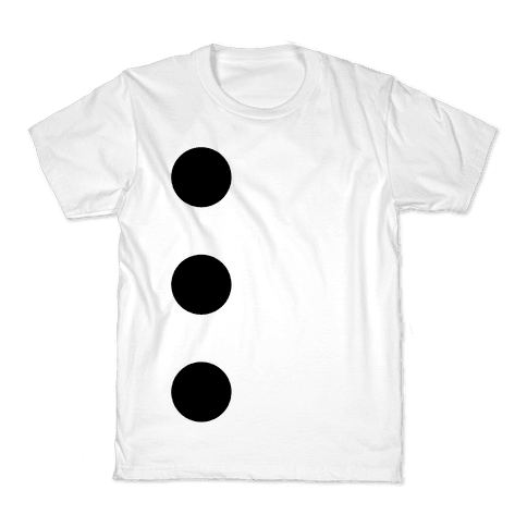 3-Hole Punch Costume Kids T-Shirt