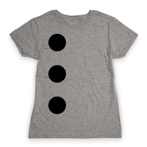 3-Hole Punch Costume Womens T-Shirt