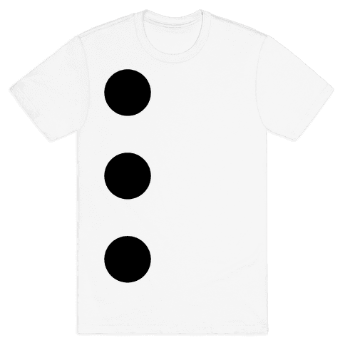 3-Hole Punch Costume Mens T-Shirt