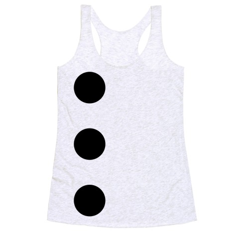 3-Hole Punch Costume Racerback Tank Top