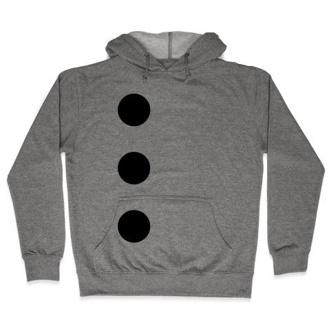 3-Hole Punch Costume Hooded Sweatshirt