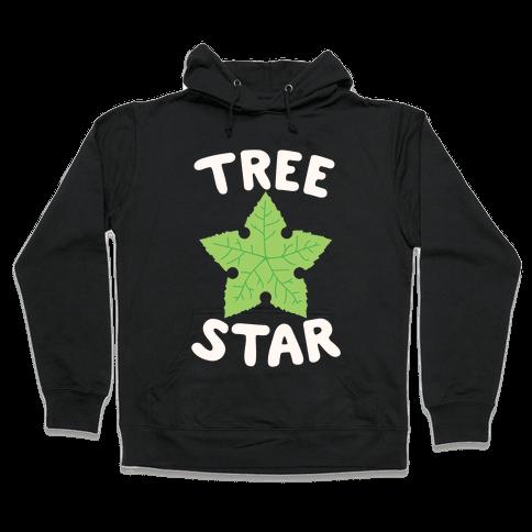 Tree Star Hooded Sweatshirt