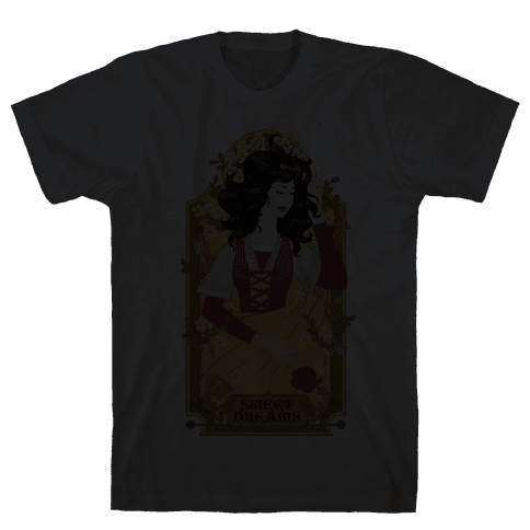 Sweet Dreams Snow White Mens T-Shirt