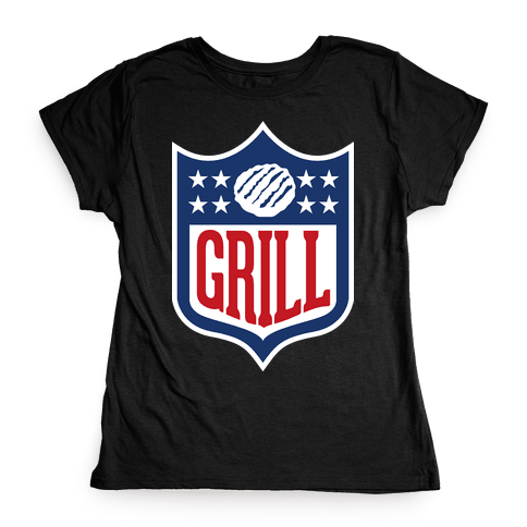 Grill League Womens T-Shirt