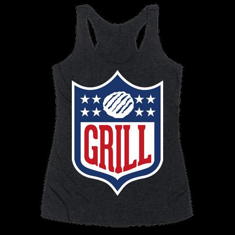 Grill League Racerback Tank Top