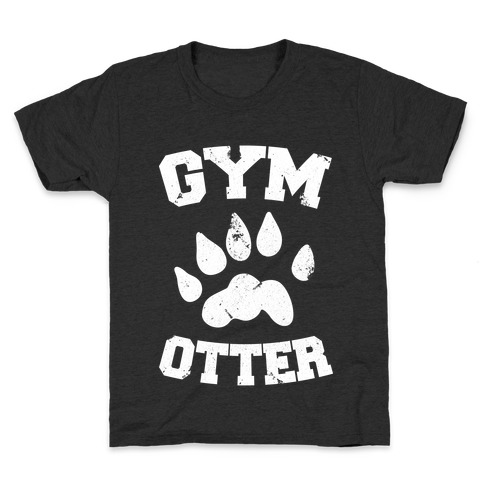 Gym Otter Kids T-Shirt