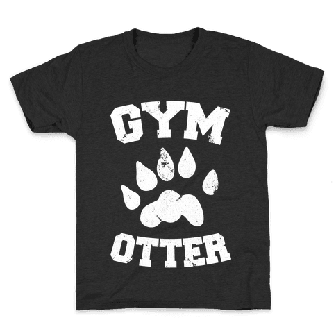 Gym Otter Kids T-Shirt