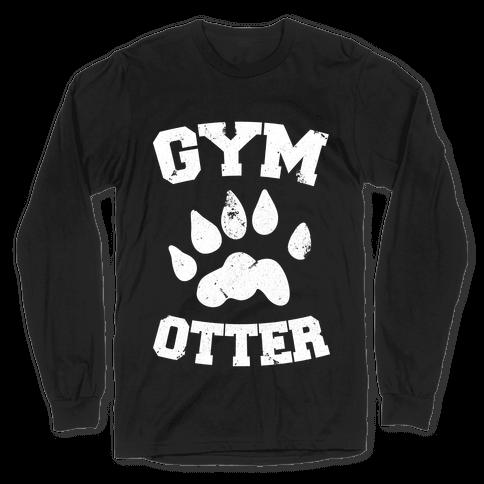 Gym Otter Long Sleeve T-Shirt