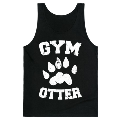 Gym Otter Tank Top