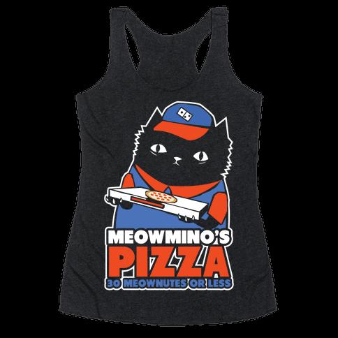 Meowmino's Racerback Tank Top