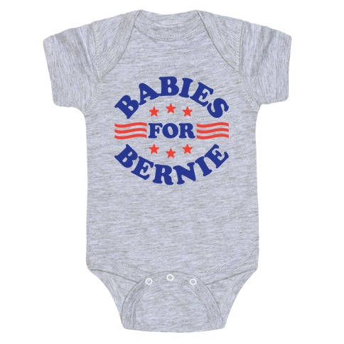 Babies For Bernie Baby Onesy