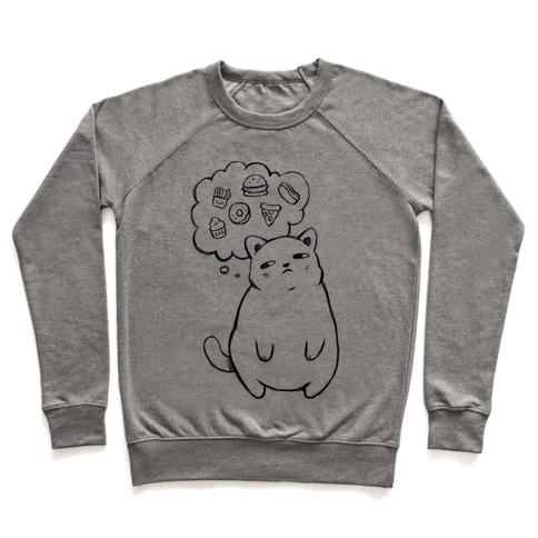 Tubby Cat Food Dreams Pullover