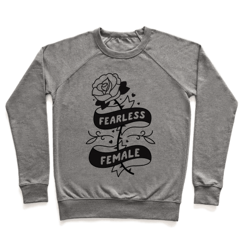 Fearless Female Pullover