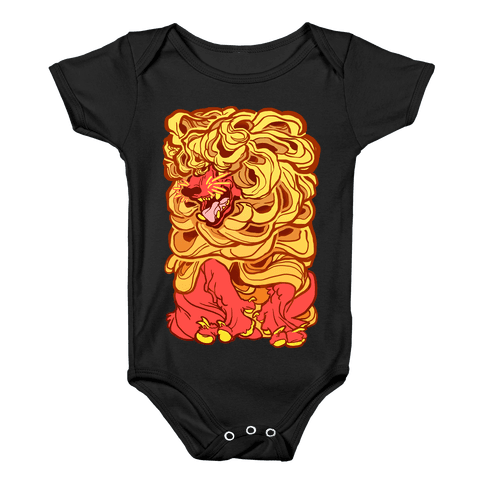Aesop's Wolf In Sheep's Clothing Baby Onesy