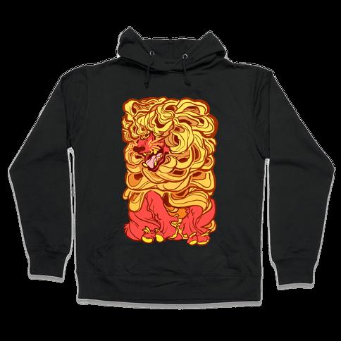 Aesop's Wolf In Sheep's Clothing Hooded Sweatshirt