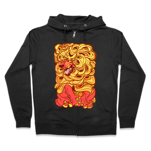 Aesop's Wolf In Sheep's Clothing Zip Hoodie