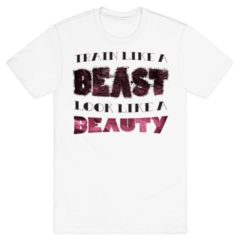Beast & Beauty (color) Mens T-Shirt