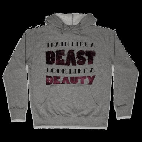 Beast & Beauty (color) Hooded Sweatshirt