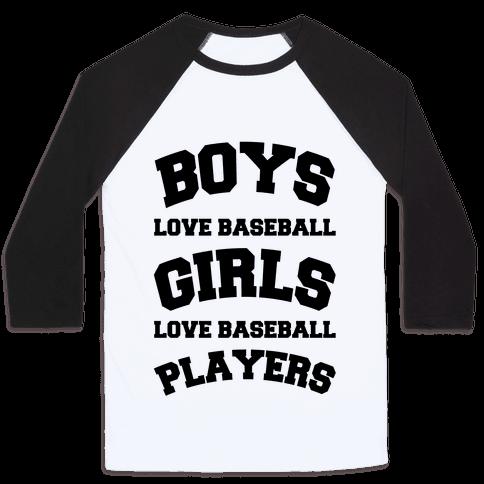 Boys and Girls Love Baseball