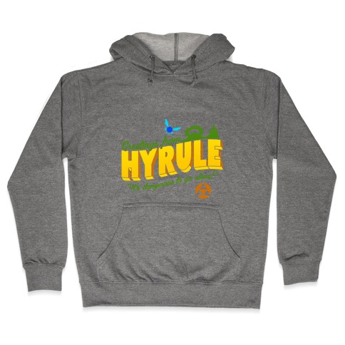 Greetings From Hyrule Hooded Sweatshirt