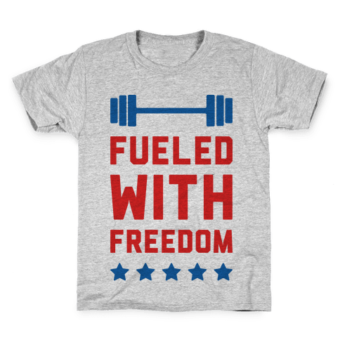 Fueled With Freedom Kids T-Shirt