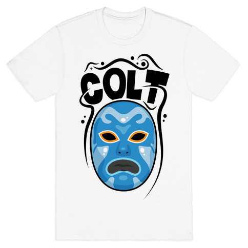 Colt Mask Mens T-Shirt