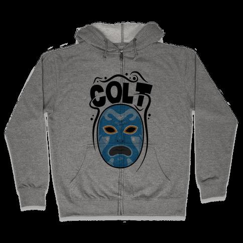 Colt Mask Zip Hoodie