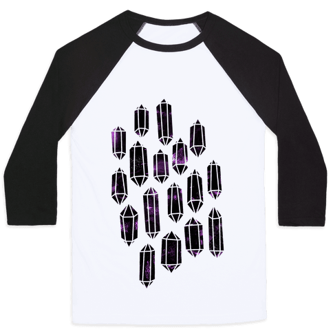 Crystal Collage Baseball Tee