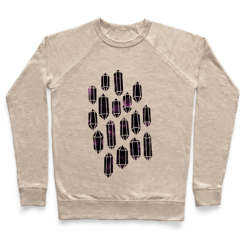 Crystal Collage Pullover