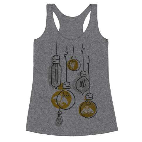 Moth And Wallflower Indie Lights Racerback Tank Top