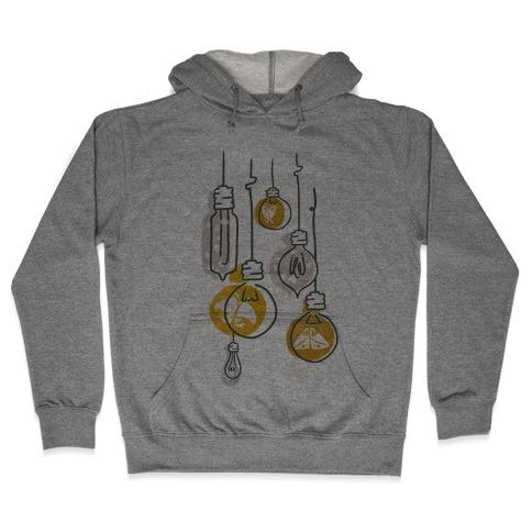 Moth And Wallflower Indie Lights Hooded Sweatshirt