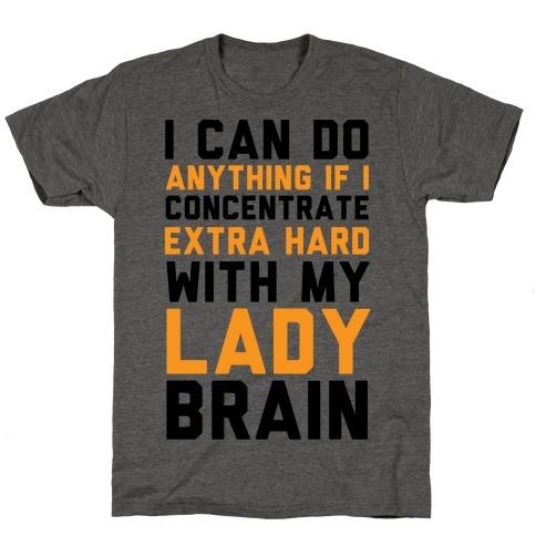Lady Brain T-Shirt