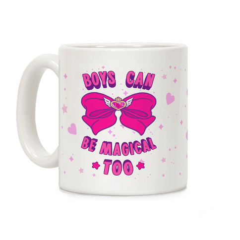 Boys Can Be Magical Too Coffee Mug