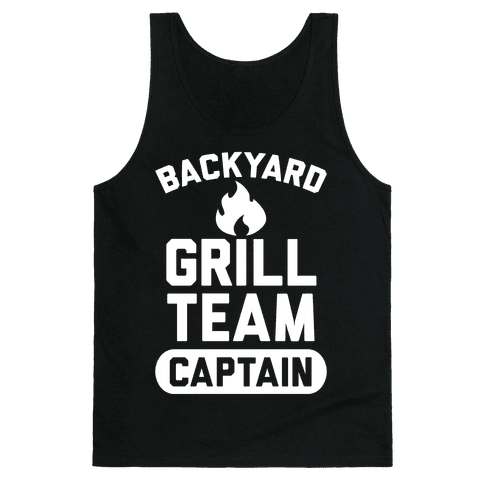 Backyard Grill Team Captain Tank Top