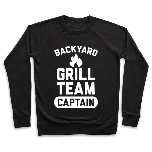 Backyard Grill Team Captain Pullover