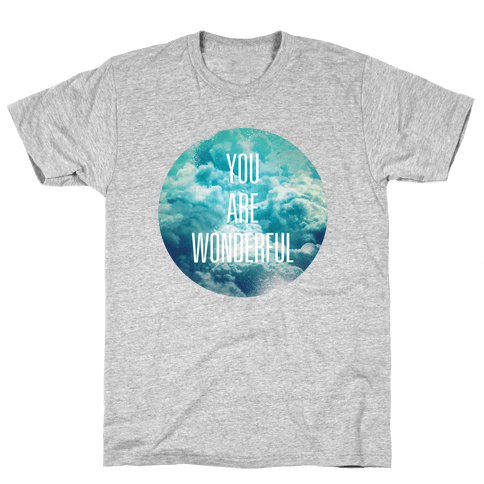 You Are Wonderful Mens T-Shirt