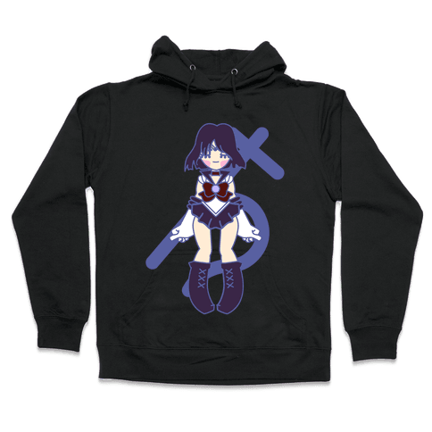 Pretty Guardian: Saturn Hooded Sweatshirt