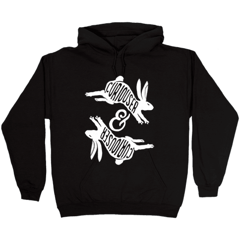 Curiouser And Curiouser Hooded Sweatshirt