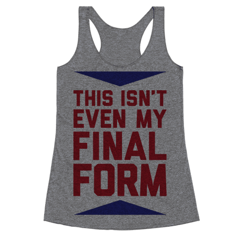 Final Form Racerback Tank Top
