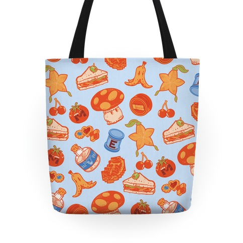 Gamer Food Items Tote