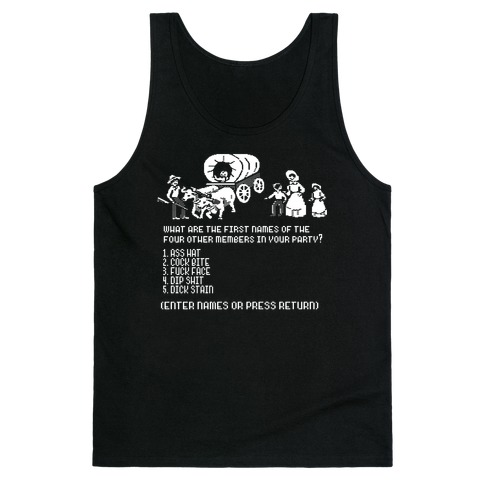 First Four Names Tank Top
