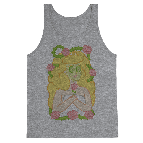 Sleeping Beauty's Spa Day Tank Top