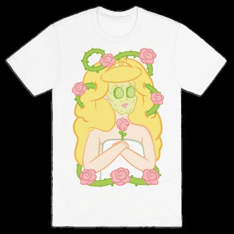 Sleeping Beauty's Spa Day Mens T-Shirt