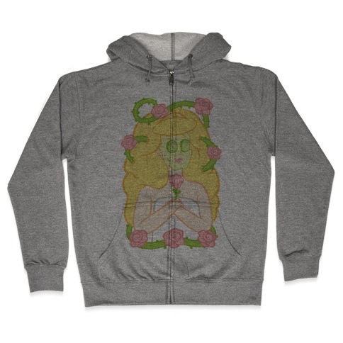 Sleeping Beauty's Spa Day Zip Hoodie