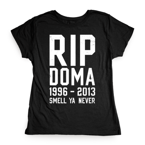 RIP DOMA Womens T-Shirt
