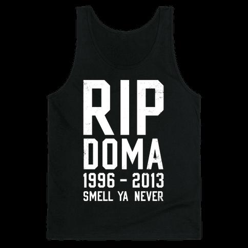 RIP DOMA Tank Top