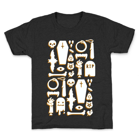Simple Halloween Pattern Kids T-Shirt