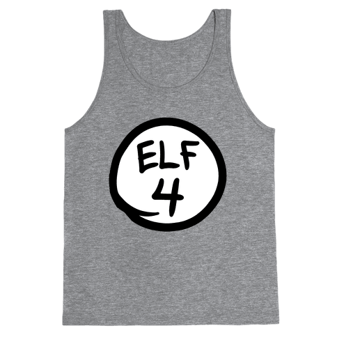 Elf Four Tank Top